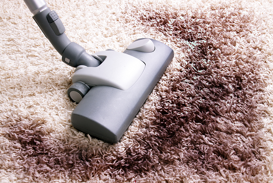 How to get mud out of carpets